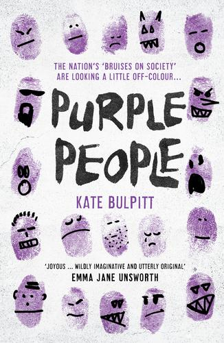 Amongst what I'm (e–)reading: Purple People by Kate Bulpitt @qwertykate; a tale of violet offenders. Published by @unbounders https://unbound.com/books/purple-people/