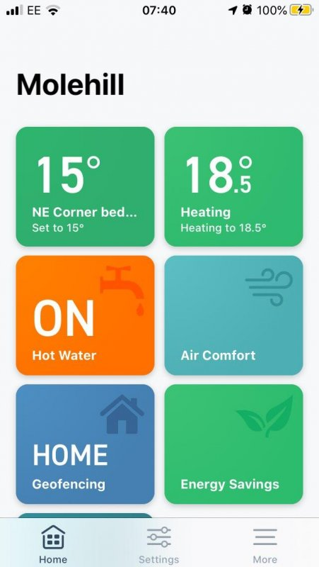 Warmth control –