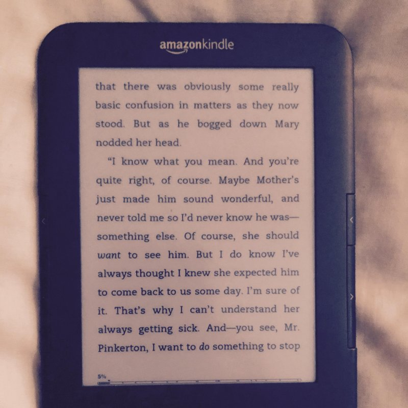 My reading has been curtailed; Kindle's second(?) screen has stuck 🙃