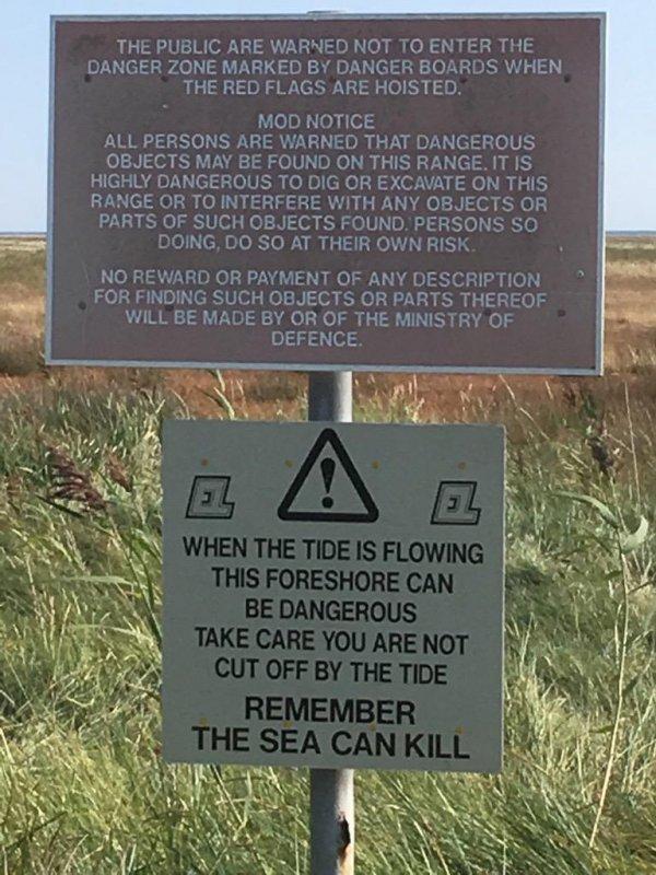 ⚠️ Tide Warning