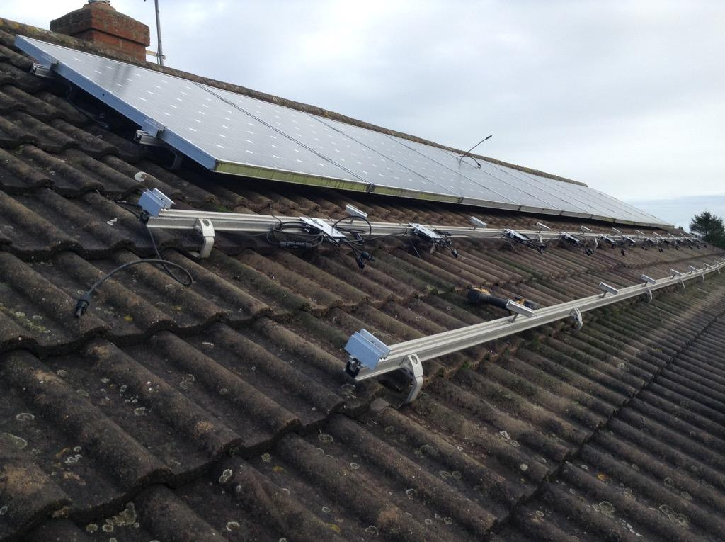 Sharp PV panels and SolarEdge optimisers