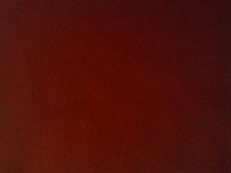 Le ciel rouge du matin